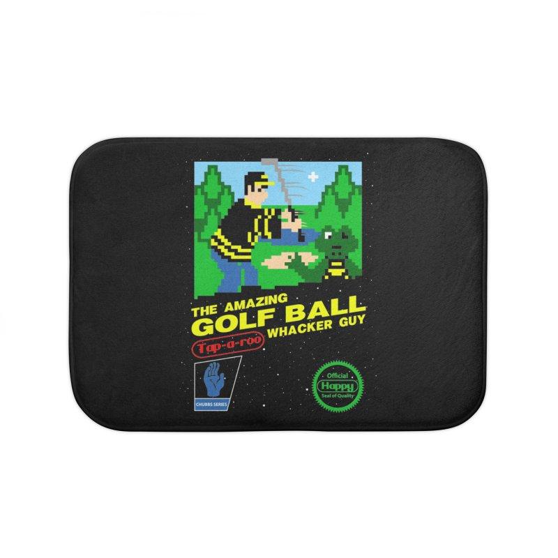 Happy Golf Home Bath Mat by CoD Designs