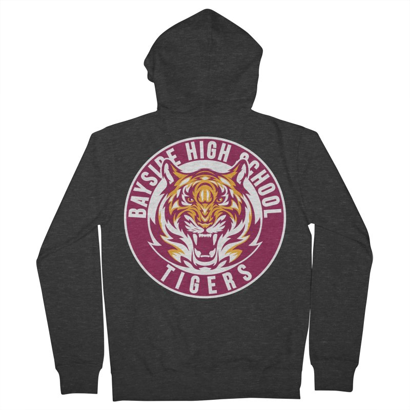 Bayside Tigers Women's Zip-Up Hoody by coddesigns's Artist Shop