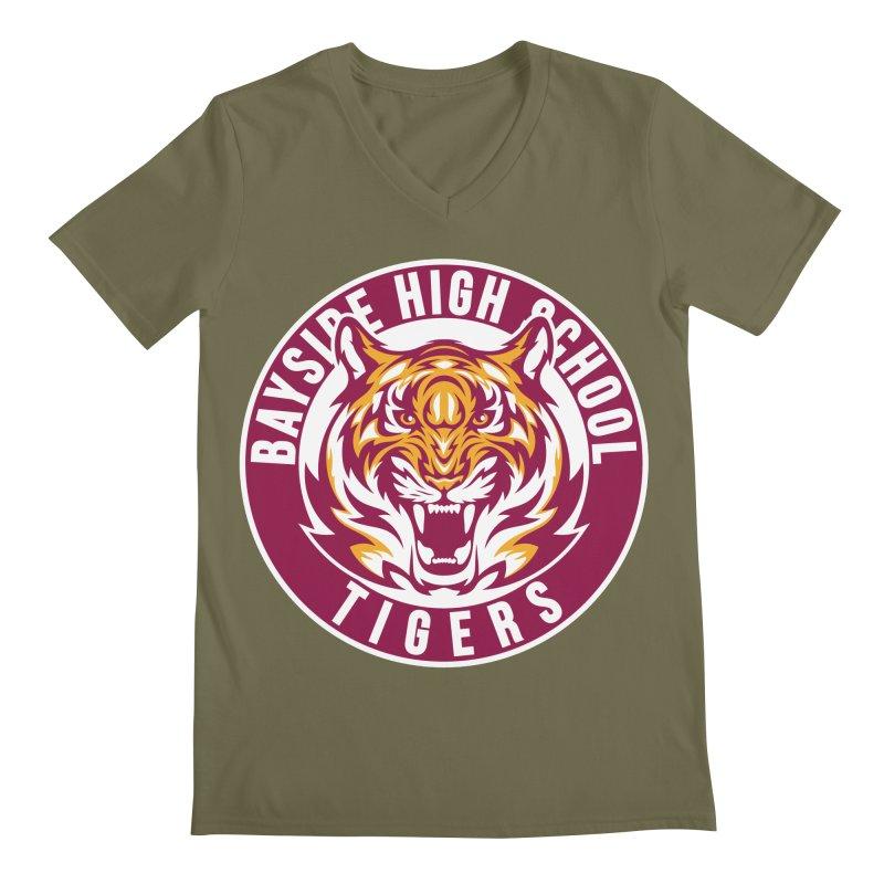 Bayside Tigers Men's V-Neck by coddesigns's Artist Shop