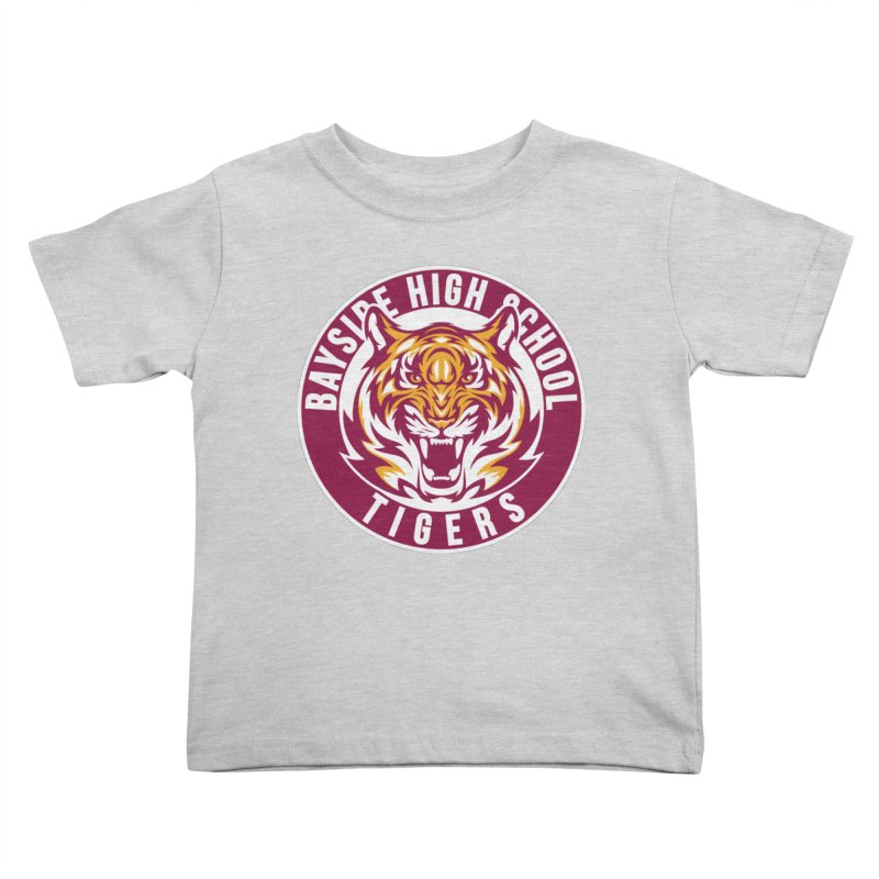 Bayside Tigers Kids Toddler T-Shirt by coddesigns's Artist Shop