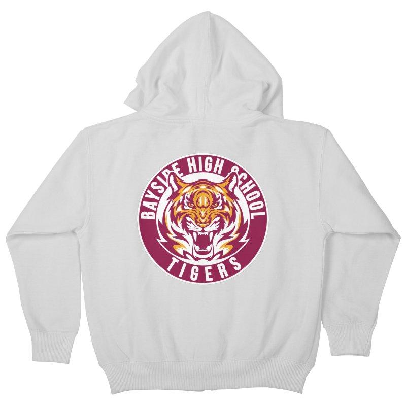 Bayside Tigers Kids Zip-Up Hoody by coddesigns's Artist Shop