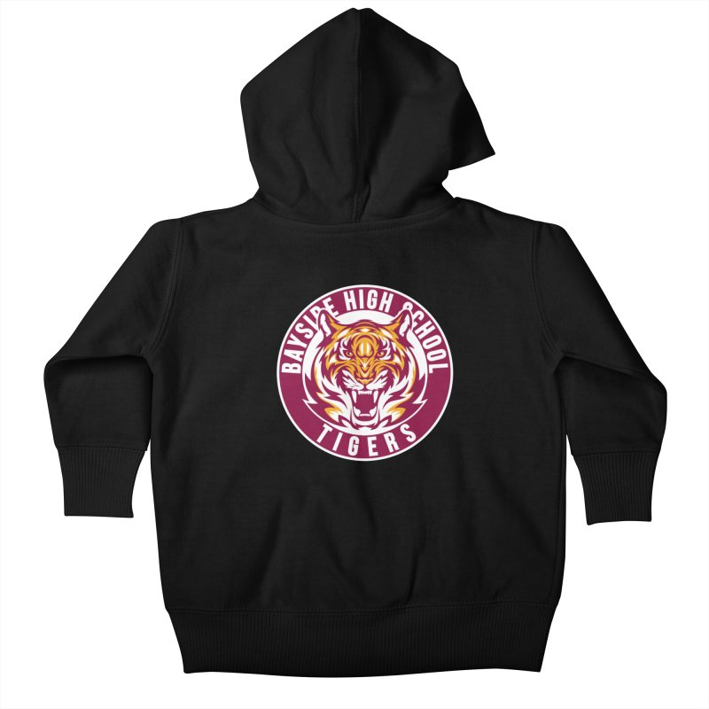 Bayside Tigers Kids Baby Zip-Up Hoody by coddesigns's Artist Shop