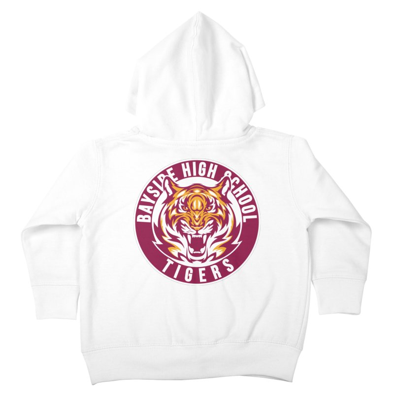 Bayside Tigers Kids Toddler Zip-Up Hoody by coddesigns's Artist Shop