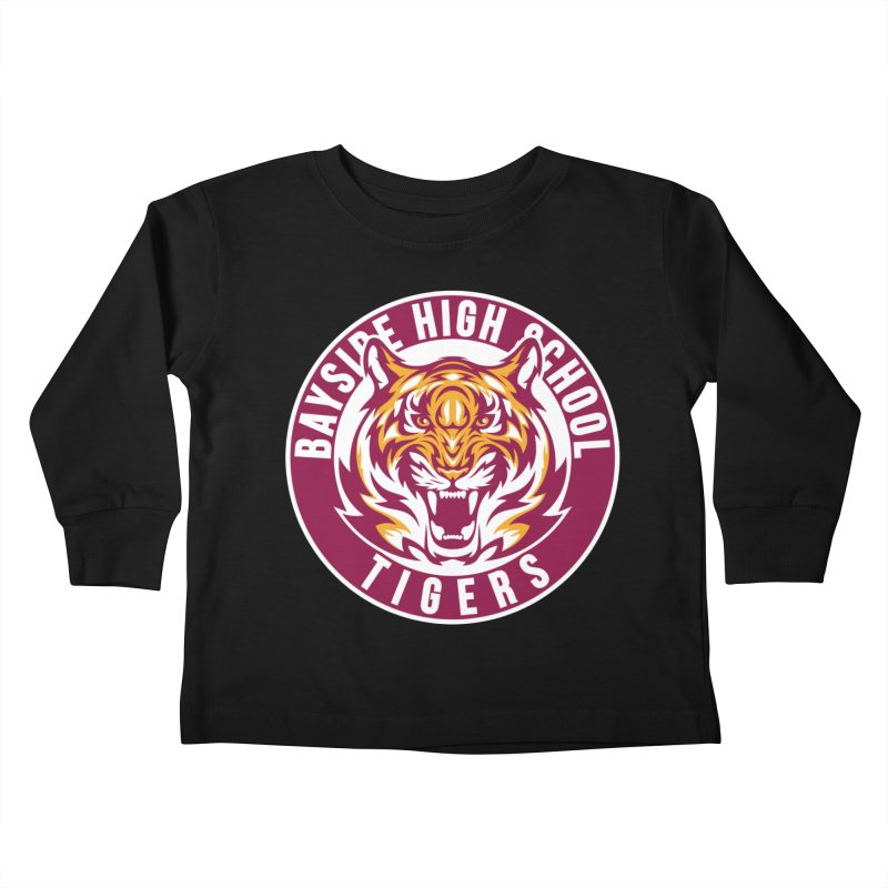 Bayside Tigers Kids Toddler Longsleeve T-Shirt by coddesigns's Artist Shop