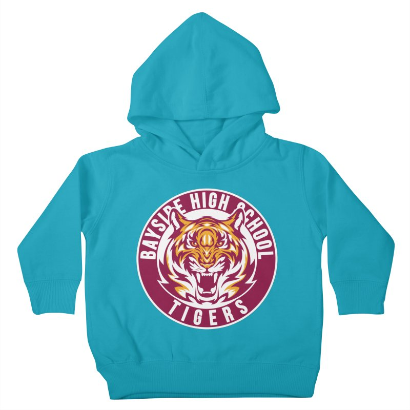 Bayside Tigers Kids Toddler Pullover Hoody by coddesigns's Artist Shop