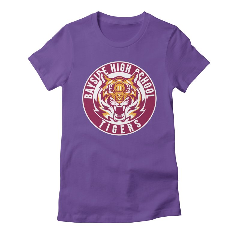 Bayside Tigers Women's Fitted T-Shirt by coddesigns's Artist Shop