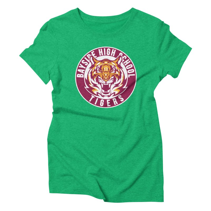 Bayside Tigers Women's Triblend T-Shirt by coddesigns's Artist Shop
