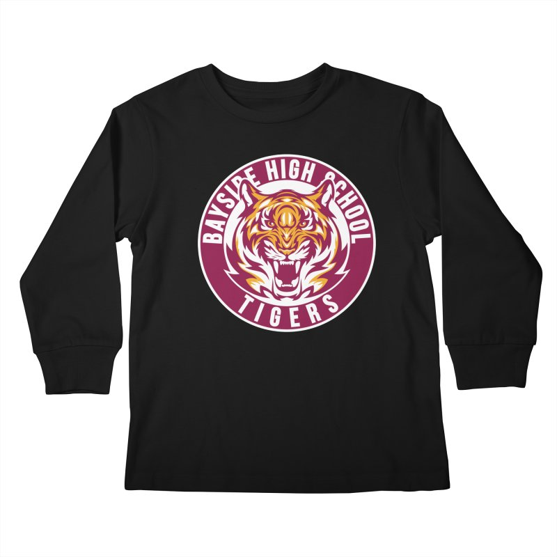 Bayside Tigers Kids Longsleeve T-Shirt by coddesigns's Artist Shop