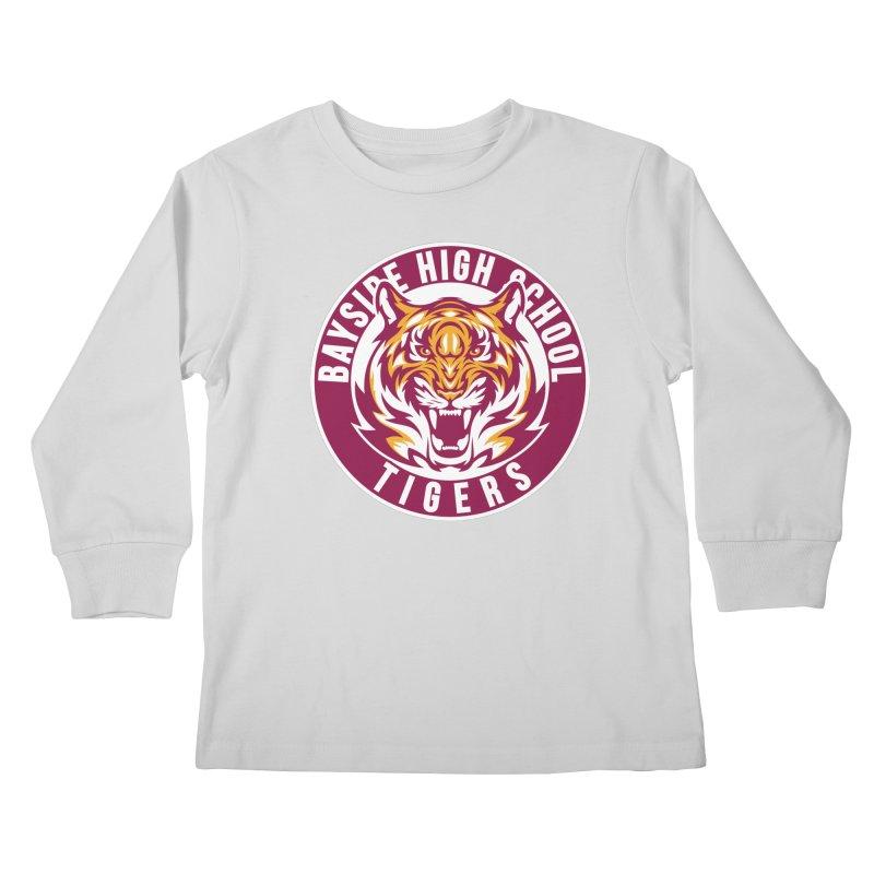 Bayside Tigers Kids Longsleeve T-Shirt by coddesigns's Artist Shop