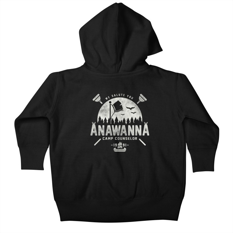 We Salute You Kids Baby Zip-Up Hoody by coddesigns's Artist Shop