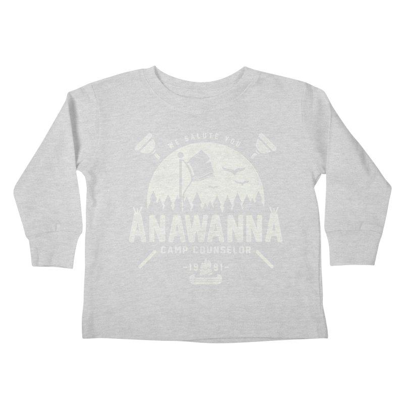 We Salute You Kids Toddler Longsleeve T-Shirt by coddesigns's Artist Shop