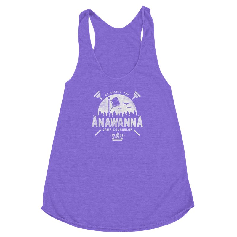 We Salute You Women's Racerback Triblend Tank by coddesigns's Artist Shop