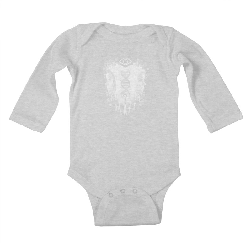 Who Am I? Kids Baby Longsleeve Bodysuit by coddesigns's Artist Shop