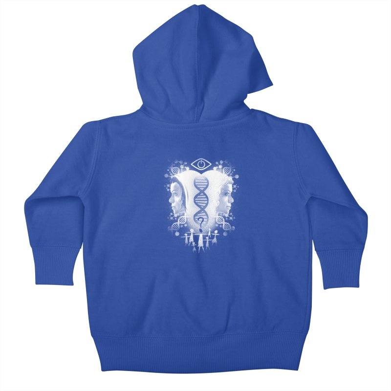 Who Am I? Kids Baby Zip-Up Hoody by coddesigns's Artist Shop