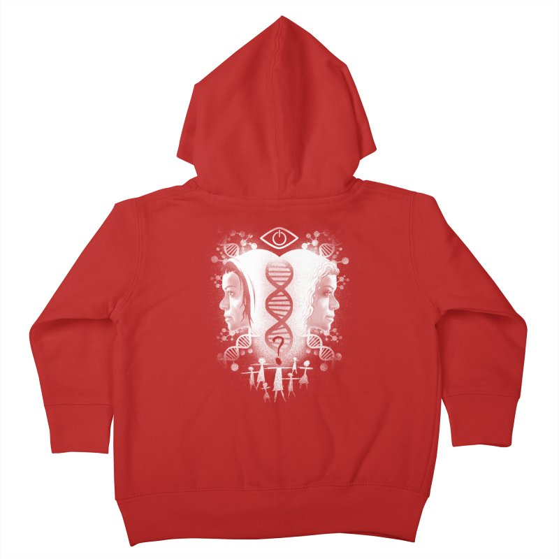 Who Am I? Kids Toddler Zip-Up Hoody by coddesigns's Artist Shop