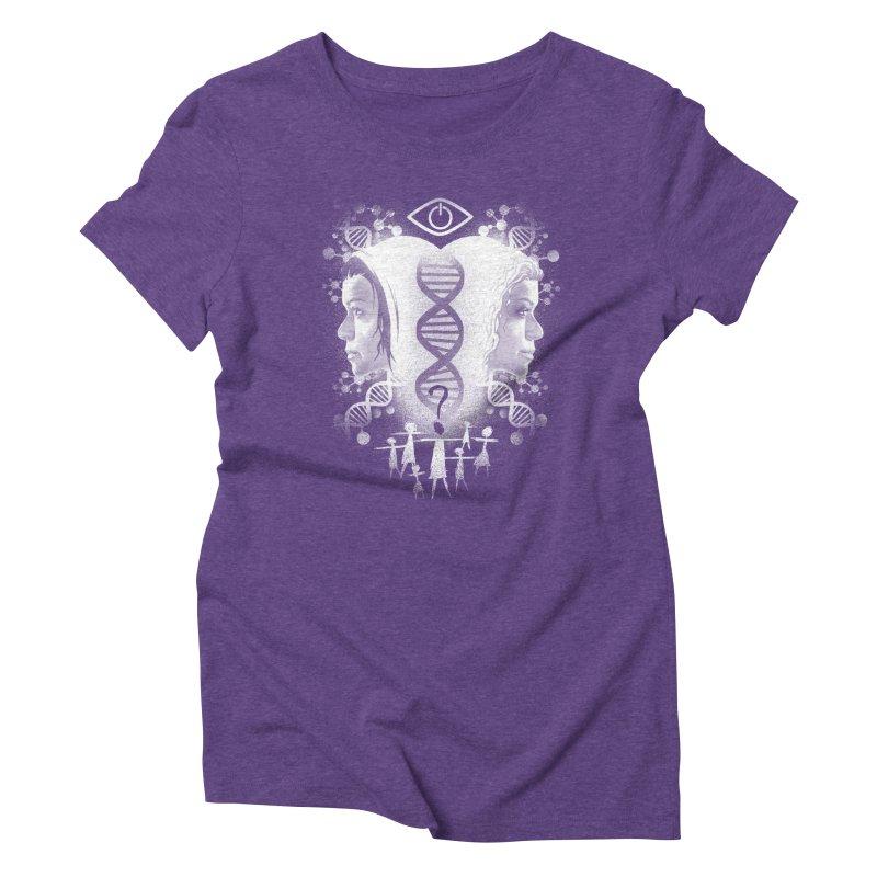 Who Am I? Women's Triblend T-shirt by coddesigns's Artist Shop