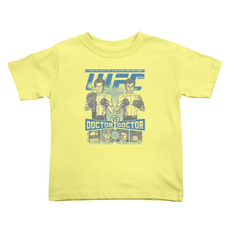 WhoFC Kids Toddler T-Shirt by coddesigns's Artist Shop