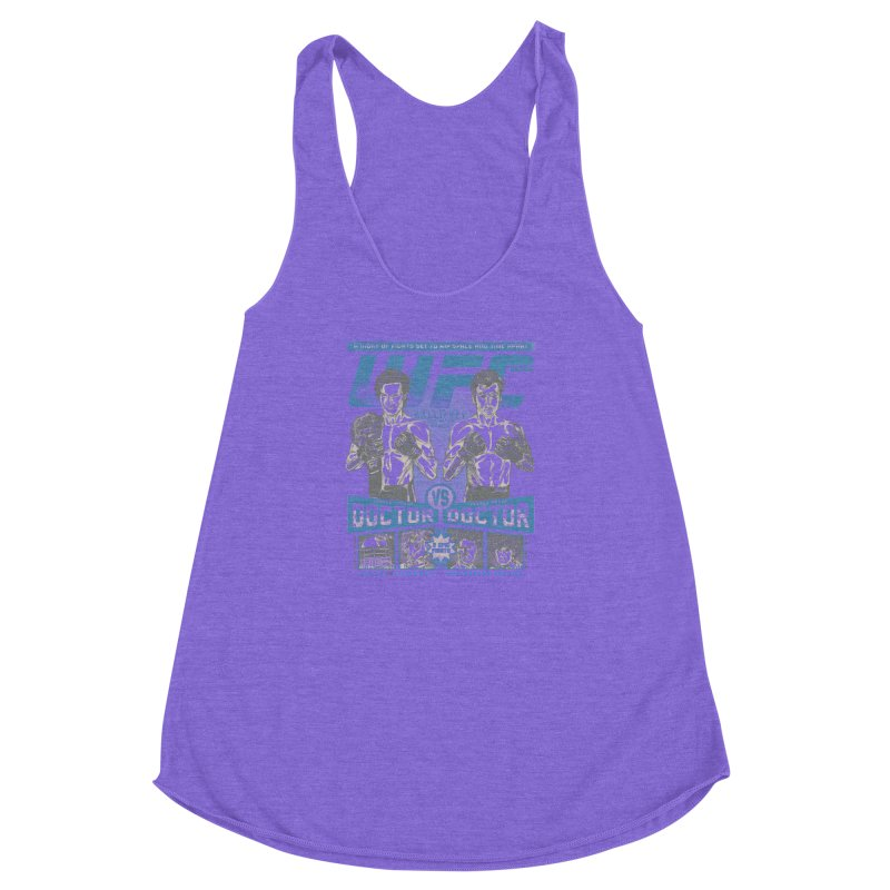 WhoFC Women's Racerback Triblend Tank by coddesigns's Artist Shop