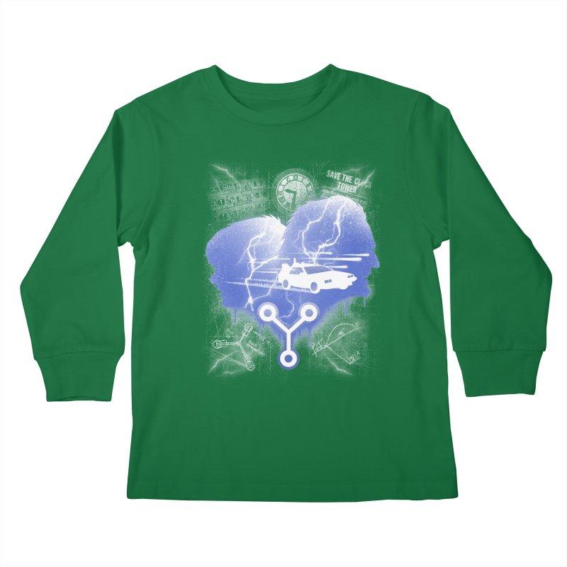 Who Needs Roads Kids Longsleeve T-Shirt by coddesigns's Artist Shop