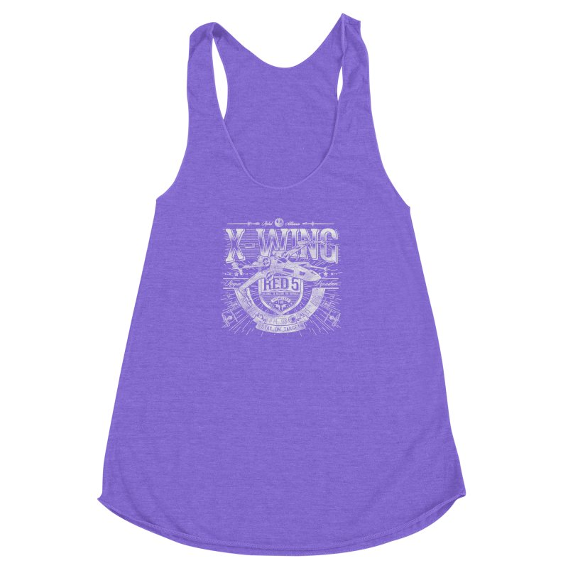 Trust Your Instincts Women's Racerback Triblend Tank by coddesigns's Artist Shop