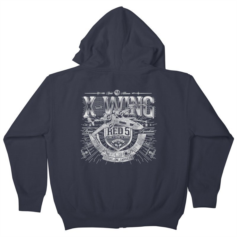 Trust Your Instincts Kids Zip-Up Hoody by coddesigns's Artist Shop