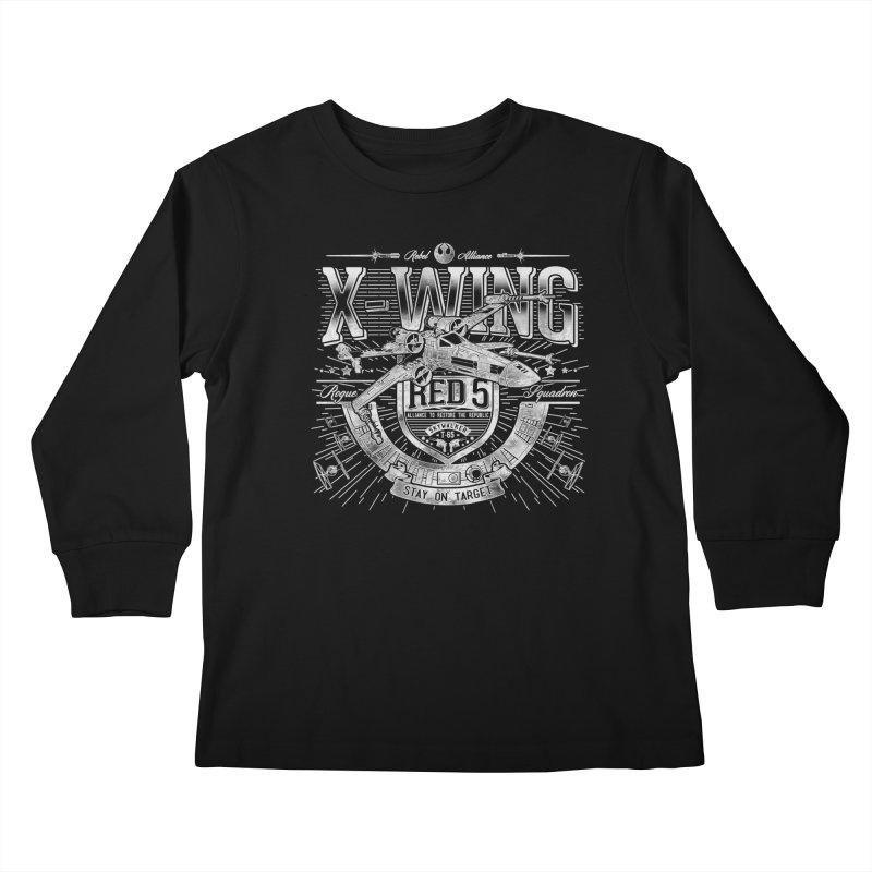 Trust Your Instincts Kids Longsleeve T-Shirt by coddesigns's Artist Shop