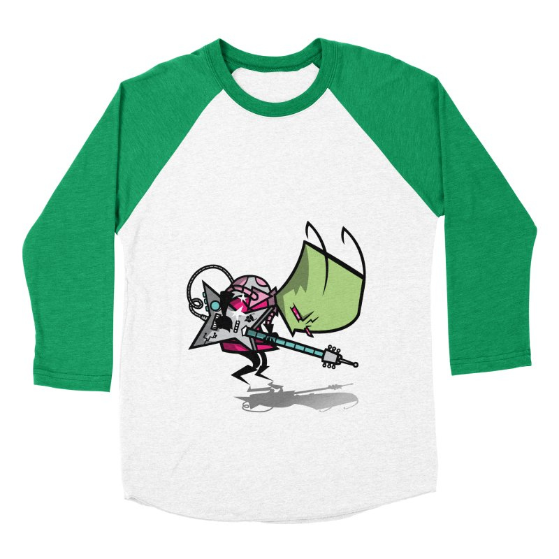 Zim Pilgrim Women's Baseball Triblend T-Shirt by coddesigns's Artist Shop