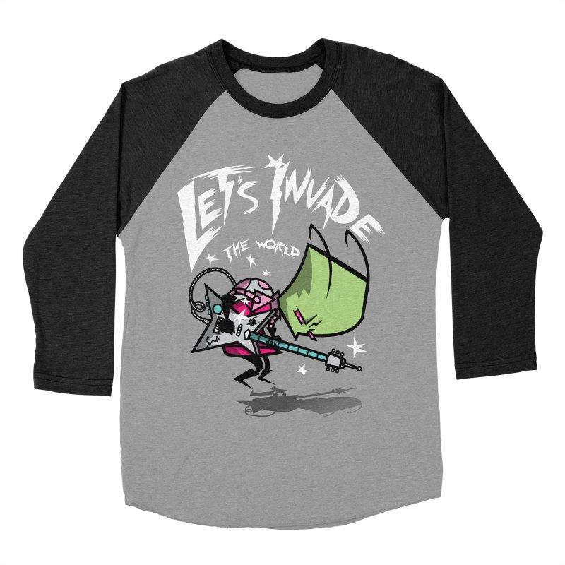 Zim Pilgrim Men's Baseball Triblend T-Shirt by coddesigns's Artist Shop