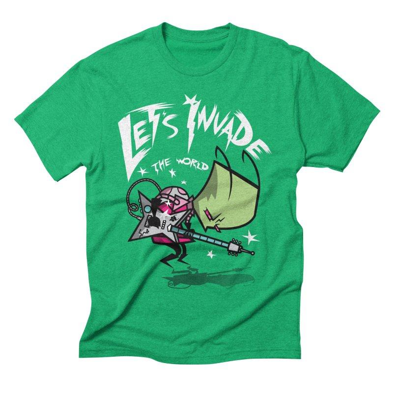 Zim Pilgrim Men's Triblend T-shirt by coddesigns's Artist Shop