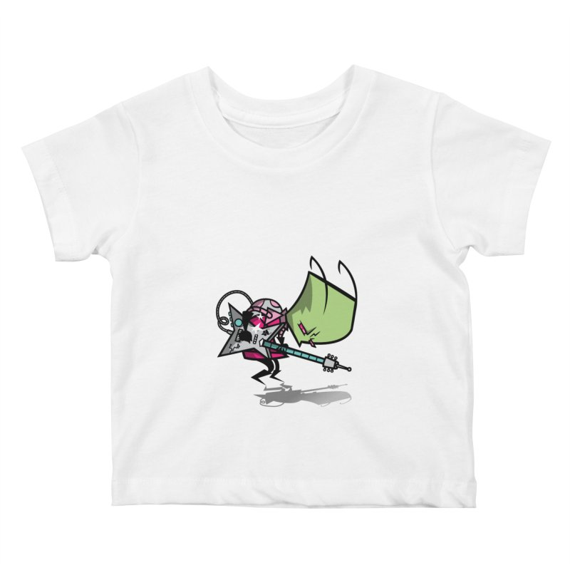 Zim Pilgrim Kids Baby T-Shirt by coddesigns's Artist Shop