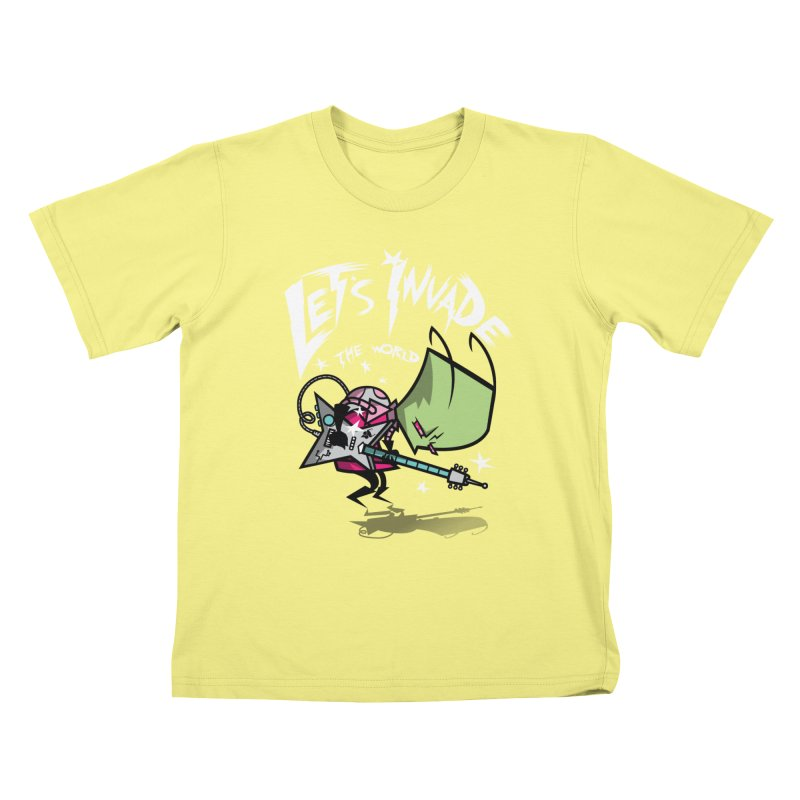 Zim Pilgrim Kids T-shirt by coddesigns's Artist Shop