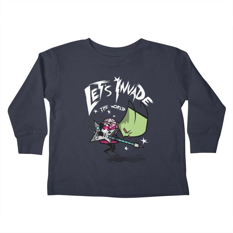 Zim Pilgrim Kids Toddler Longsleeve T-Shirt by coddesigns's Artist Shop