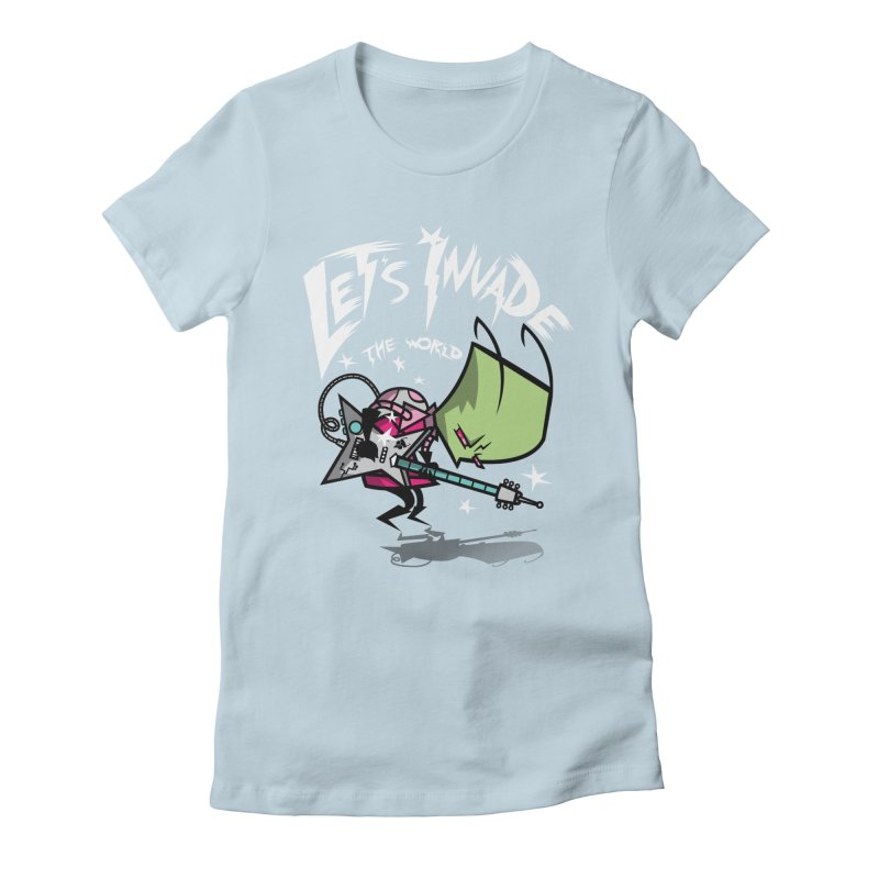 Zim Pilgrim Women's Fitted T-Shirt by coddesigns's Artist Shop