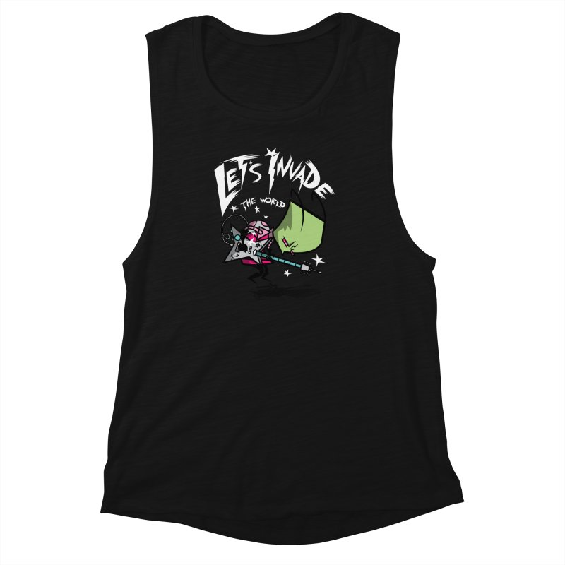 Zim Pilgrim Women's Muscle Tank by coddesigns's Artist Shop