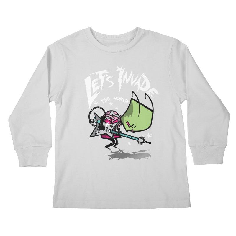 Zim Pilgrim Kids Longsleeve T-Shirt by coddesigns's Artist Shop