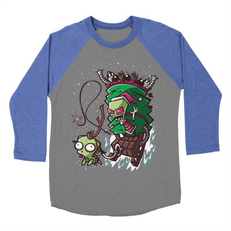 Zim Stole XMas Women's Baseball Triblend T-Shirt by coddesigns's Artist Shop
