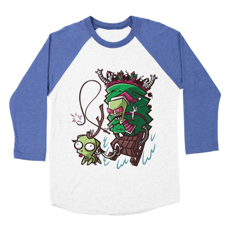 Zim Stole XMas Men's Baseball Triblend T-Shirt by coddesigns's Artist Shop