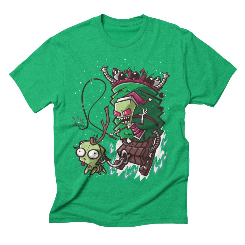 Zim Stole XMas Men's Triblend T-shirt by coddesigns's Artist Shop
