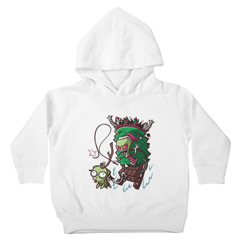 Zim Stole XMas Kids Toddler Pullover Hoody by coddesigns's Artist Shop