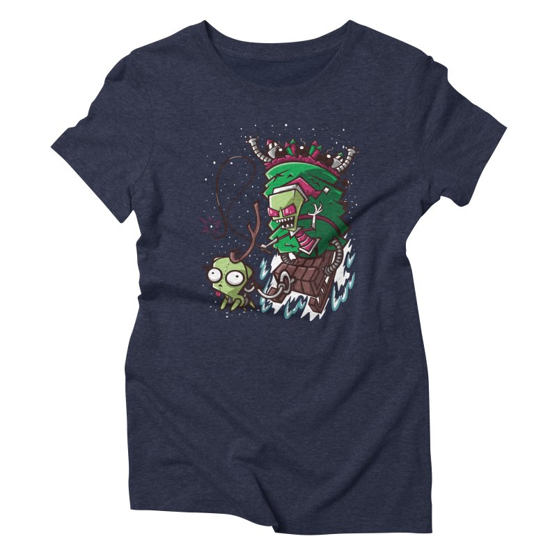 Zim Stole XMas Women's Triblend T-Shirt by coddesigns's Artist Shop