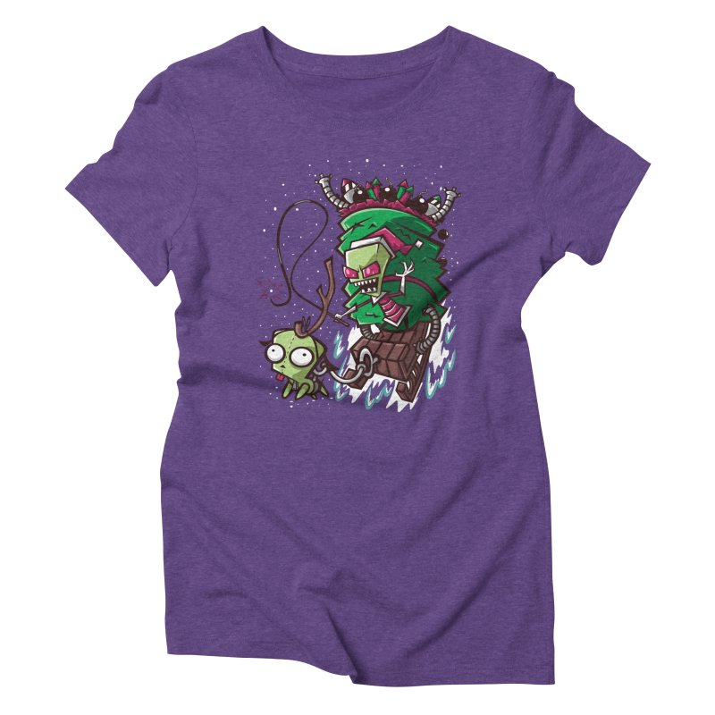Zim Stole XMas Women's Triblend T-shirt by coddesigns's Artist Shop