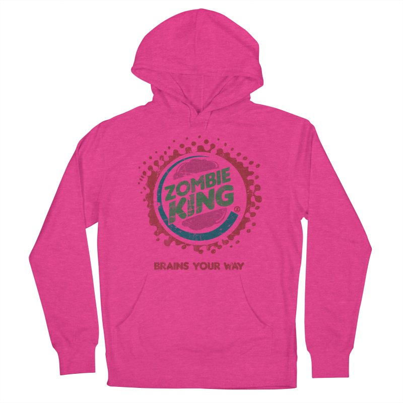 Zombie King Women's Pullover Hoody by coddesigns's Artist Shop