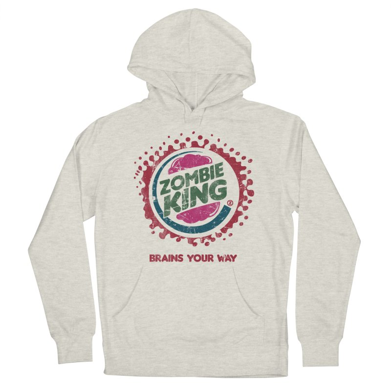 Zombie King Men's Pullover Hoody by coddesigns's Artist Shop