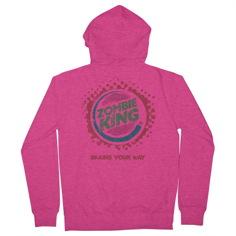 Zombie King Women's Zip-Up Hoody by coddesigns's Artist Shop