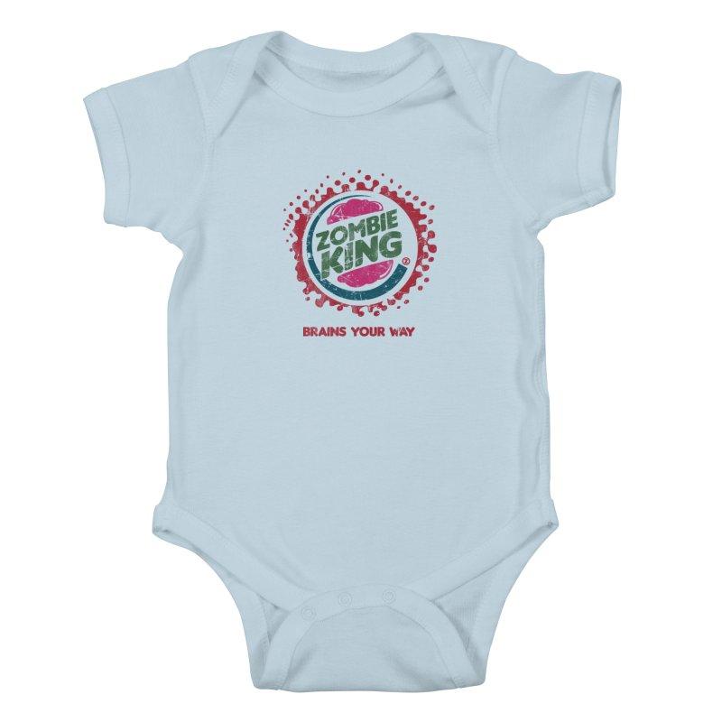 Zombie King Kids Baby Bodysuit by coddesigns's Artist Shop