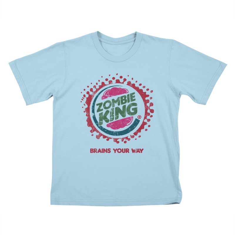 Zombie King Kids T-shirt by coddesigns's Artist Shop