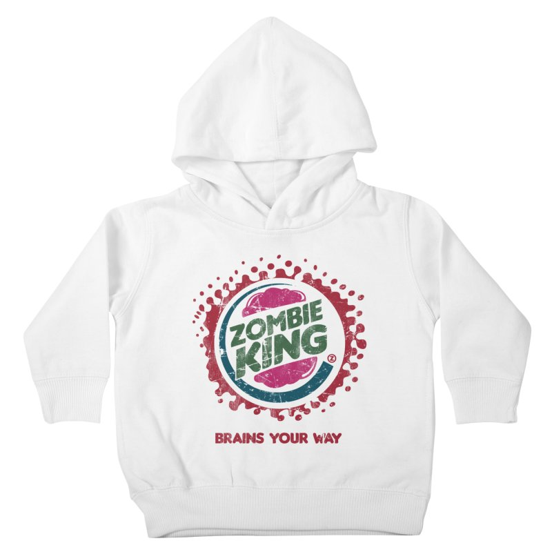 Zombie King Kids Toddler Pullover Hoody by coddesigns's Artist Shop