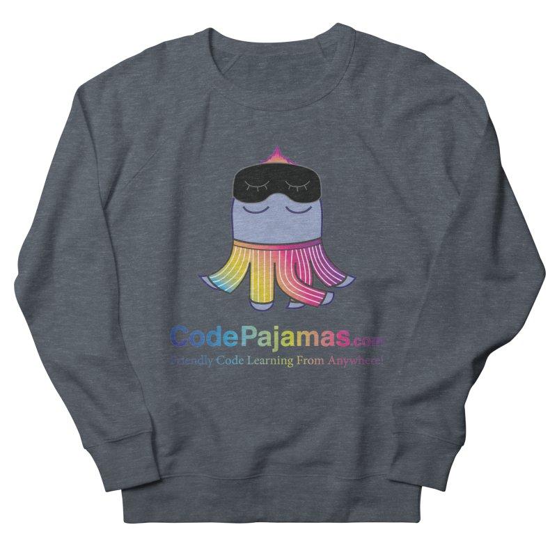 Code Pajamas: Rainbow PJs Logo Men's Sweatshirt by codepjs's Artist Shop