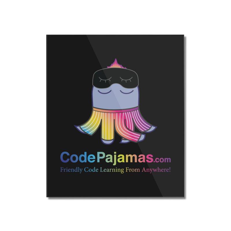 Code Pajamas: Rainbow PJs Logo Home Mounted Acrylic Print by codepjs's Artist Shop