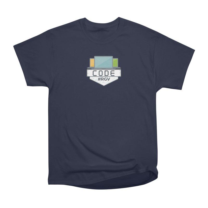 CodeRGV Men's Heavyweight T-Shirt by CodeRGV's Artist Shop